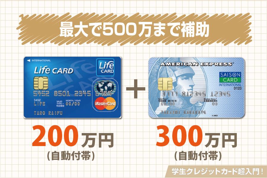 クレジットカード 保険料 合算